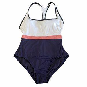 Ann Taylor LOFT Beach one piece swimsuit size 10